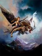 Ильмаринен - божество штормов - Вальехо, Борис (20 век)
