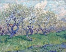 Фруктовый сад в цвету (Orchard in Blossom), 1888 - Гог, Винсент ван
