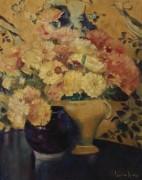 Натюрморт с цветами -  Хиллз, Лаура Кумбс