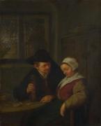 Крестьянин ухаживает за пожилой женщиной - Остаде, Адриан ван