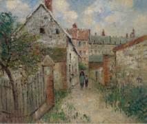По деревенской улице (Лувьер), 1928 - Луазо, Гюстав