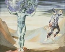 Атлас, превращенный в камень - Бёрн-Джонс, Эдвард