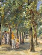 Пейзаж в Тиргартене, 1927 - Либерман, Макс
