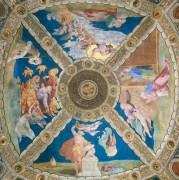 Станца Илиодора: Роспись потолка - Рафаэль, Санти