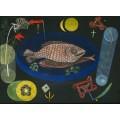 Вокруг рыбы - Клее, Пауль