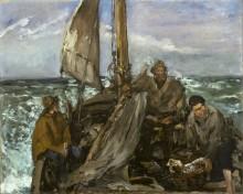 Рыбаки в море - Мане, Эдуард