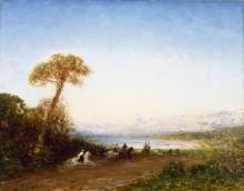 Пейзаж с всадниками в Бейруте -  Зим, Феликс