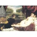 Венера с органистом и купидоном, 1555 - Тициан Вечеллио