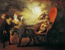 Арлекин, император Луны - Ватто, Жан Антуан
