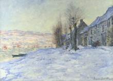 Снег в Лавакуре - Моне, Клод