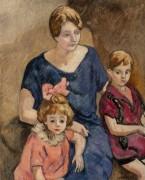 Мать с детьми - Вальта, Луи