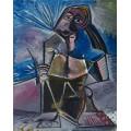 За работой - Пикассо, Пабло