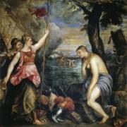 Аллегория Войны и Религии - Тициан Вечеллио