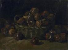 Корзина с яблоками (Basket of Apples), 1885 - Гог, Винсент ван