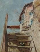Лестница, 1888 - Хассам, Фредерик Чайлд