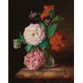 Натюрморт с цветами - Лауэр, Йозеф