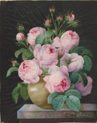 Розы в вазе - Редуте, Пьер-Жозеф