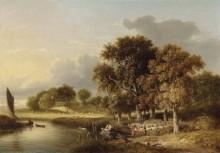 Река в Норфолке - Колкетт, Самуэль Дэвид
