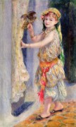 Мадмуазель Флёри в образе алжирки - Ренуар, Пьер Огюст