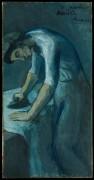 Гладящая женщина - Пикассо, Пабло