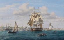 Прибытие китобойного судна Рипер в гавань Нантакета - Кросс, Рой
