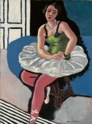 Балерина, сидящая на стуле - Матисс, Анри