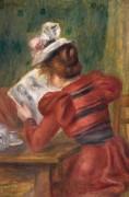 Читающая девушка - Ренуар, Пьер Огюст
