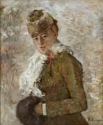Зима (Женщина с муфтой) - Моризо, Берта