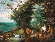 Рай земной - Брейгель, Ян (младший)