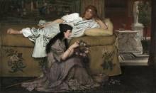Главк и Нидия (Последние дни Помпей) - Альма-Тадема, Лоуренс
