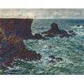 Скалы в Порт-Котон, Лион 1886 - Моне, Клод