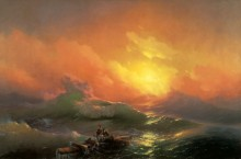 Девятый вал. The Ninth Wave - Айвазовский, Иван Константинович