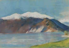 Озеро Гарда и Монте Бальдо, 1890 - Ури, Лессер