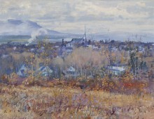 Поздняя осень, вид на Магог (Late Autumn, View of Magog), 1965 - Пилот, Роберт