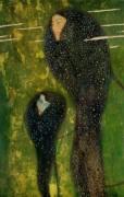 Ундины, серебряные рыбы - Климт, Густав