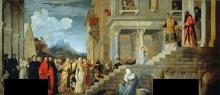 Введение во храм Пресвятой Богородицы - Тициан Вечеллио
