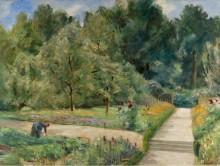 Сад на западе Ванзе, 1921 - Либерман, Макс