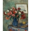Ваза с цветами - д'Эспанья, Жорж