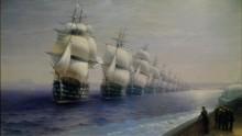 Смотр Черноморского флота в 1849 году - Айвазовский, Иван Константинович