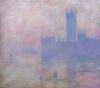 Вестминстерская башня - Моне, Клод