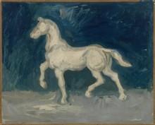 Гипсовая статуэтка лошади (Plaster Statuette of a Horse), 1886 - Гог, Винсент ван