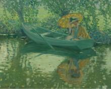 На реке, 1908 - Фризек, Фредерик Карл