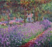 Сад художника в Живерни - Моне, Клод