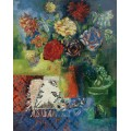 Натюрморт с цветами - Дюфи, Жан