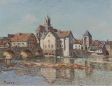 Мост в Море, 1892 - Сислей, Альфред