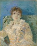 Женщина на диване - Моризо, Берта
