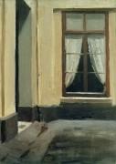 Двор дома 48 по Лилльской улице, Париж - Хоппер, Эдвард