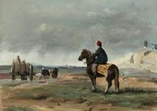 Фермеры из Питивьера - Коро, Жан-Батист Камиль