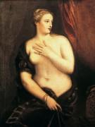 Венера с зеркалом - Тициан Вечеллио