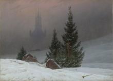 Зимний пейзаж - Фридрих, Каспар Давид